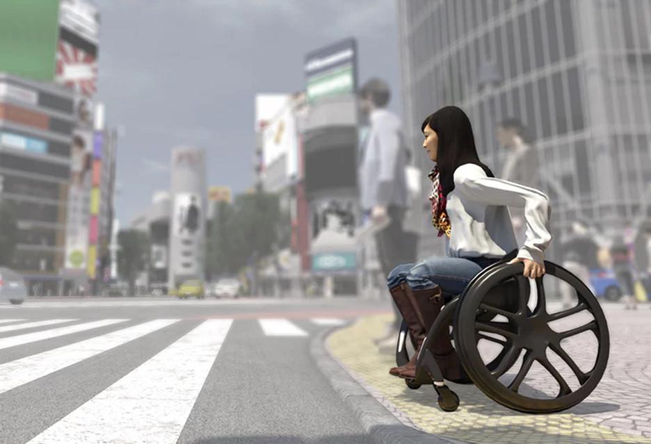 Wózek inwalidzki przyszłości - 5 projektów na CES 2019