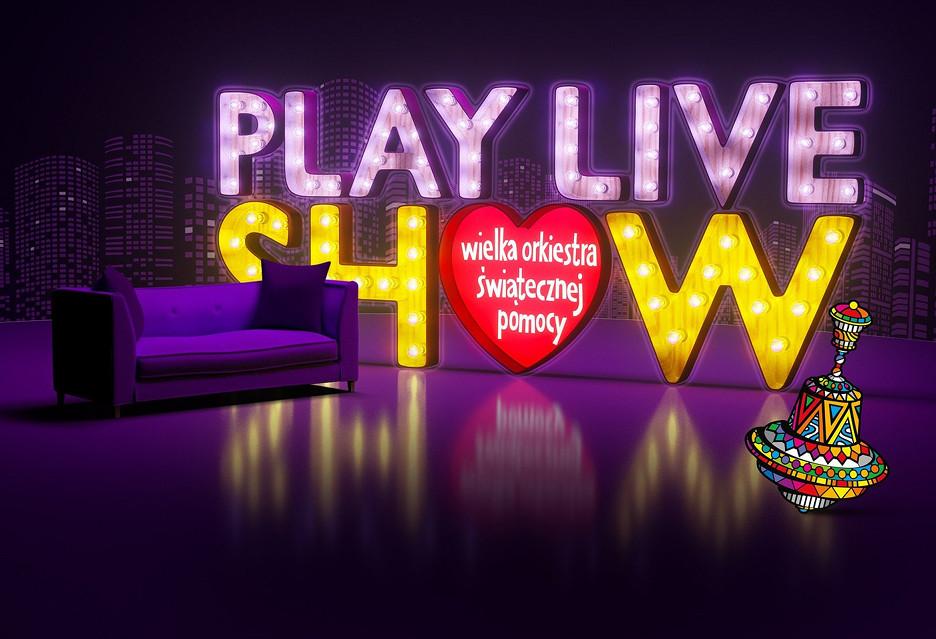 Wesprzyj WOŚP oglądając Play Live Show