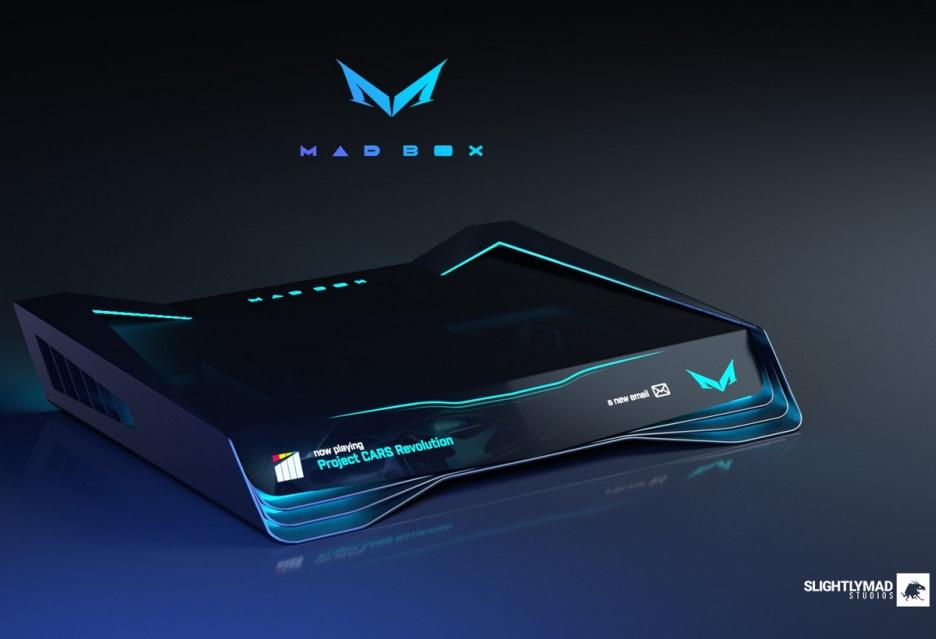 Tak będzie wyglądać Mad Box - najpotężniejsza konsola do gier