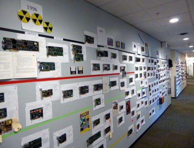 35 lat rozwoju branży GPU - pasjonująca wystawa w siedzibie Microsoftu