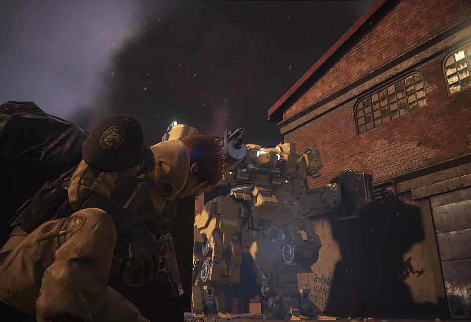 Klimatyczny zwiastun Left Alive - mrocznej gry akcji od Square Enix