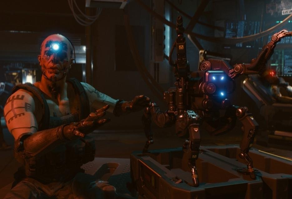Właściwe prace nad Cyberpunk 2077 nie trwają zbyt długo