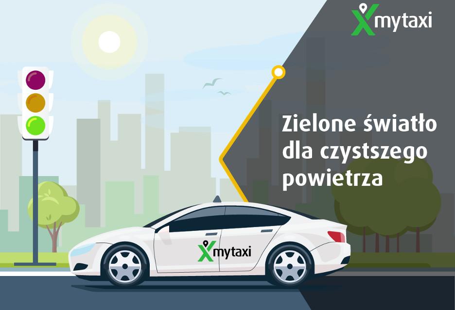 """""""Eco"""" taksówki w ofercie mytaxi"""