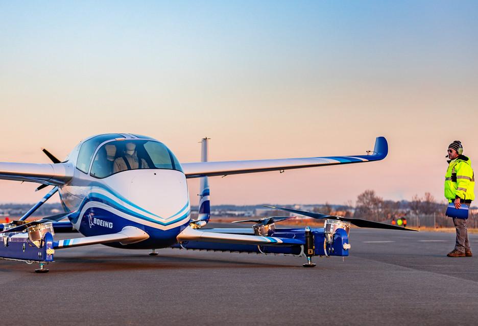 Boeing testuje latającą taksówkę