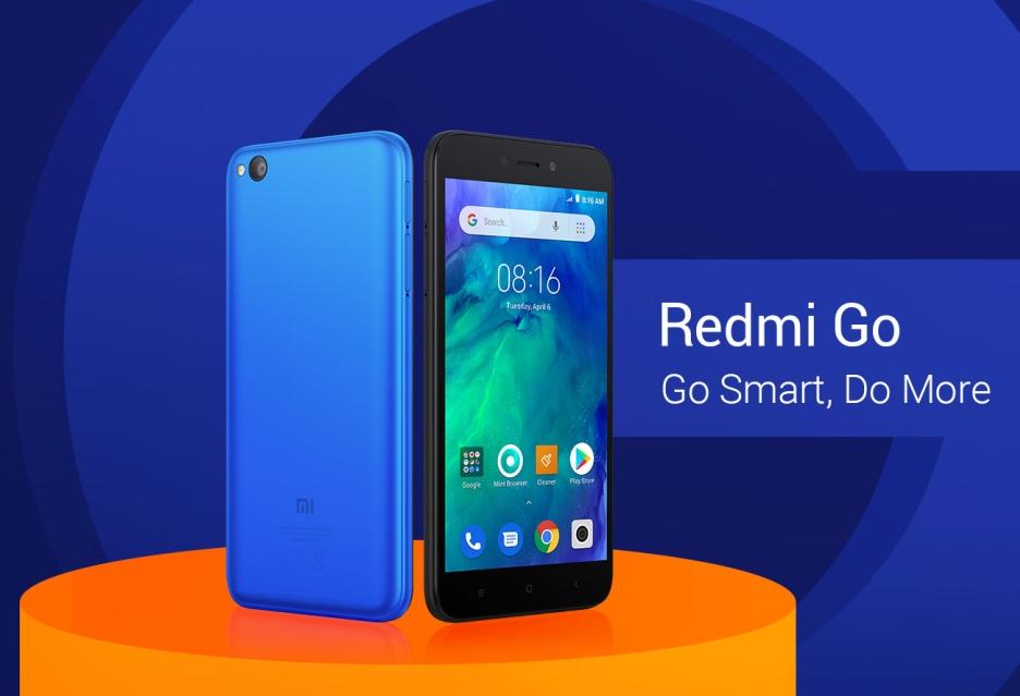 Redmi Go zaprezentowany - smartfon za 80 euro, z 1 GB RAM