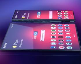 Składany Samsung Galaxy F może wyglądać właśnie tak