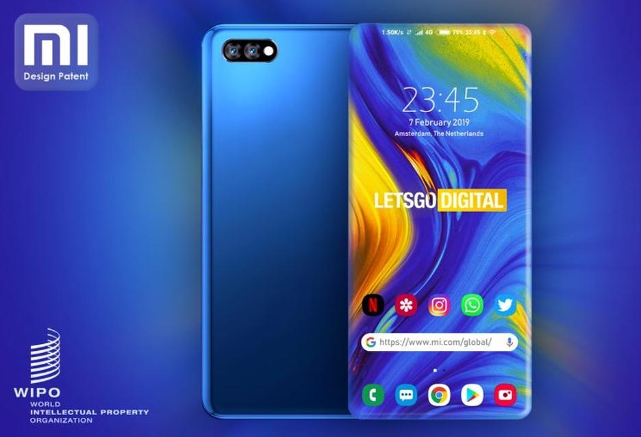 Xiaomi opatentowało smartfona z wyjątkowym, w pełni bezramkowym ekranem