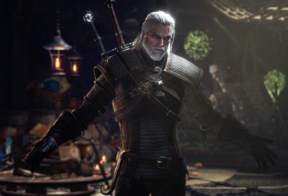 Geralt z Rivii trafił do Monster Hunter: World