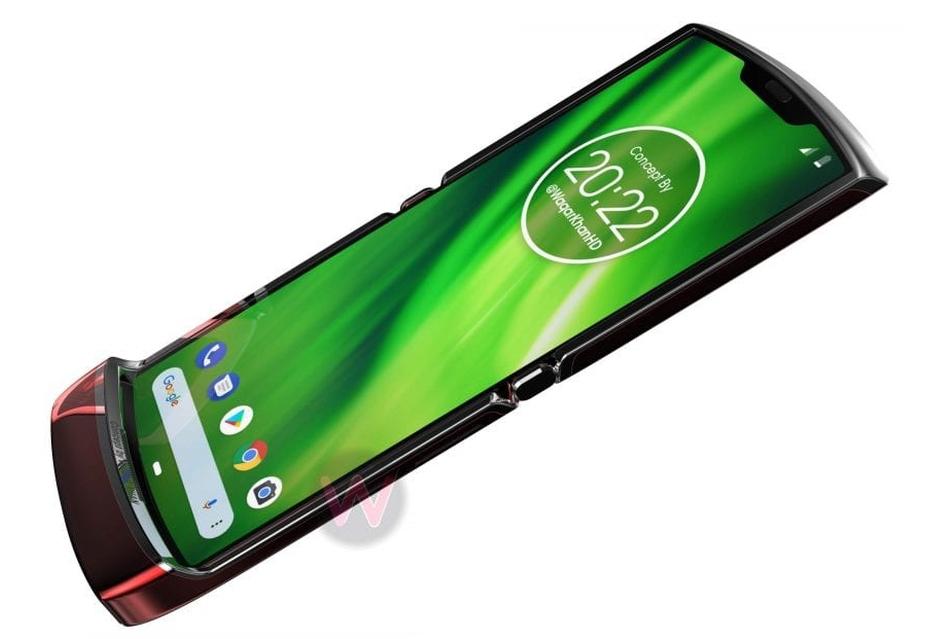 Tak mogłaby wyglądać Motorola RAZR (2019) ze składanym ekranem