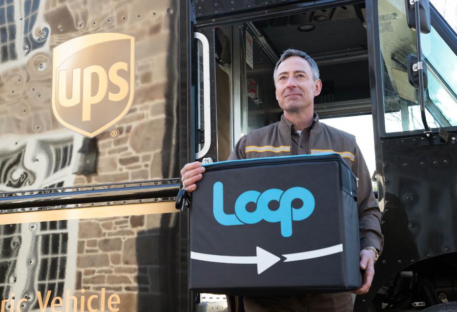 Opakowanie wielokrotnego użytku od UPS