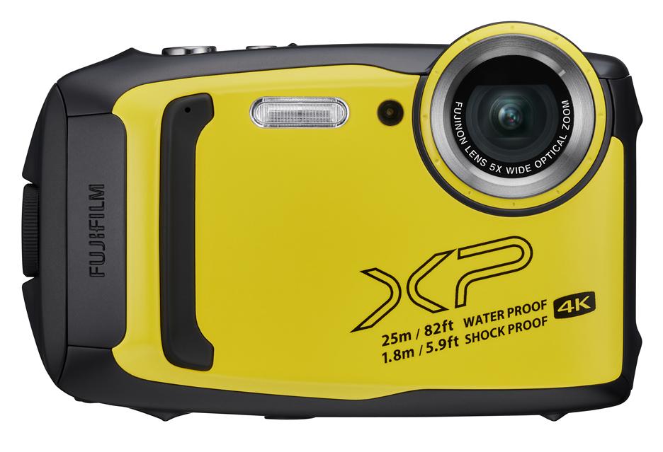 Wzmacniany kompakt Fujifilm XP140 - wideo 4K (prawie) na pokładzie