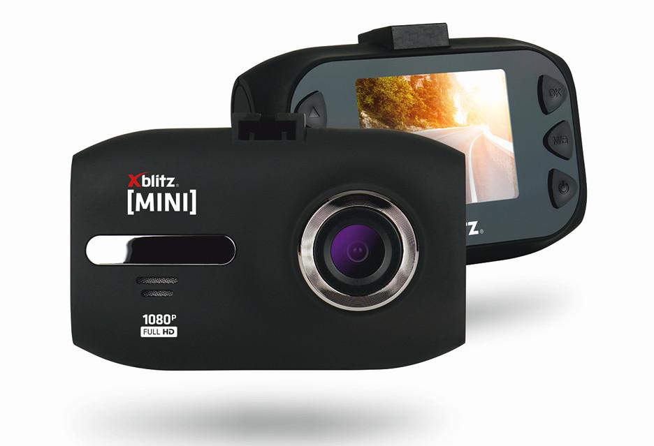 Wideorejestrator Xblitz Mini - to maleństwo nagrywa w Full HD
