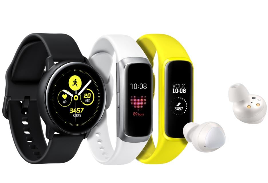 Galaxy Watch Active, Galaxy Fit i Galaxy Buds – nowe gadżety dla aktywnych