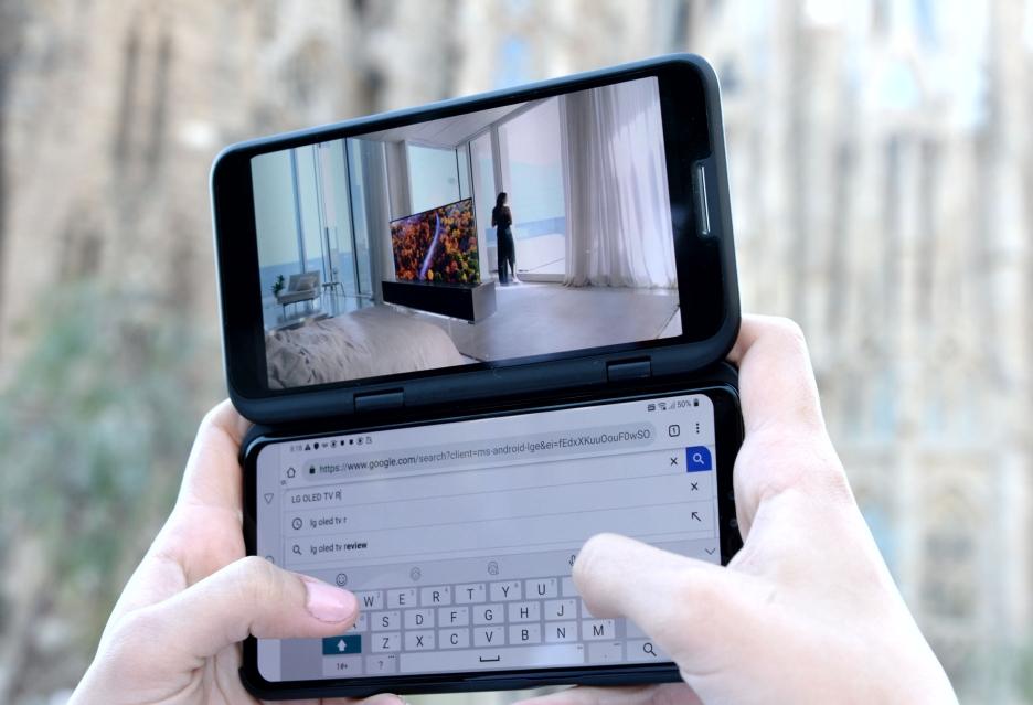 LG V50 ThinQ z drugim wyświetlaczem