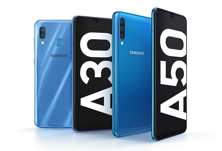 Samsung zaprezentował ciekawe smartfony Galaxy A30 i Galaxy A50