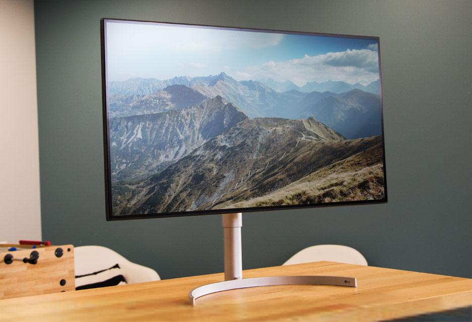 LG 32UL950-W - monitor 4K z HDR do pracy i rozrywki | zdjęcie 1