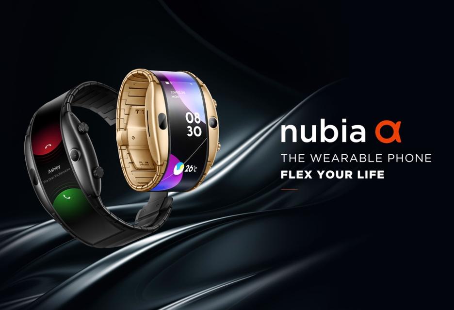 Nubia Alpha to smartfon zakładany na nadgarstek