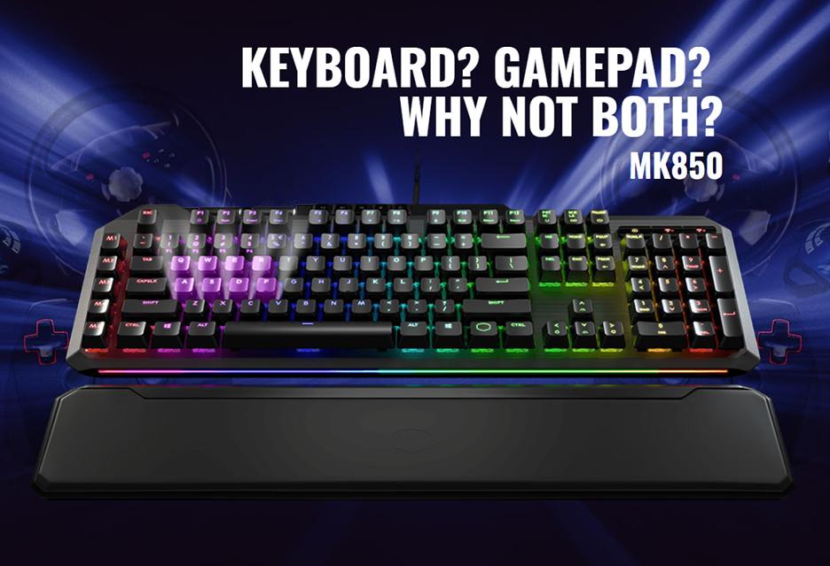 Ta klawiatura wyczuwa siłę nacisku - Cooler Master MasterKeys MK850