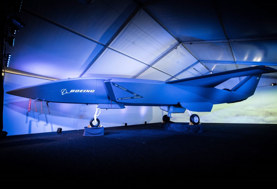 Autonomiczny myśliwiec Boeinga