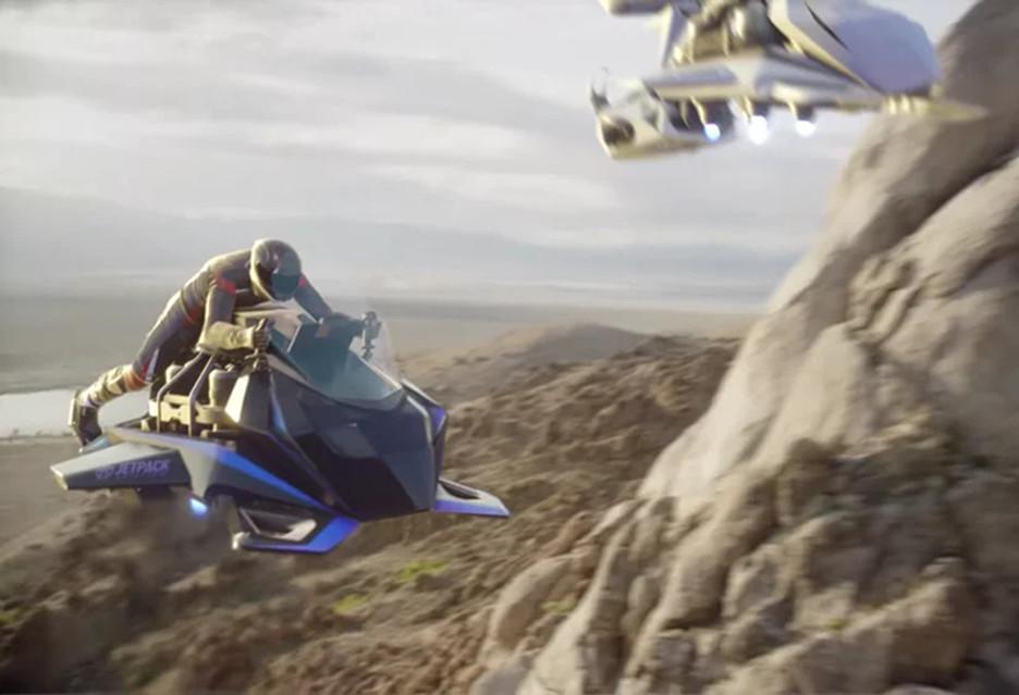 Latający motocykl dostępny w przedsprzedaży - The Speeder