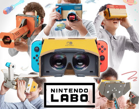 Gogle VR do Nintendo Switch oficjalnie [AKT.]