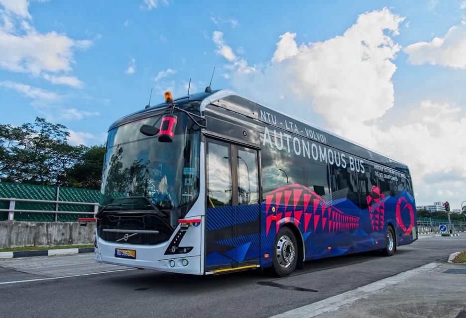 Ten elektryczny autobus Volvo jeździ sam