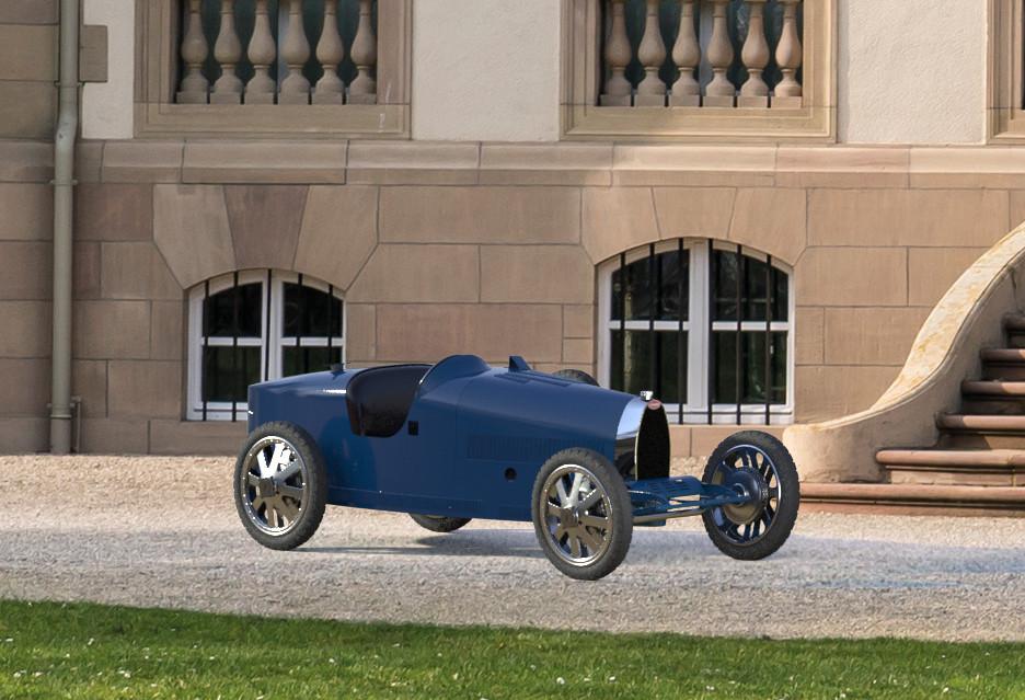 Elektryczne Bugatti za 30 tysięcy euro? Spokojnie, to tylko zabawka