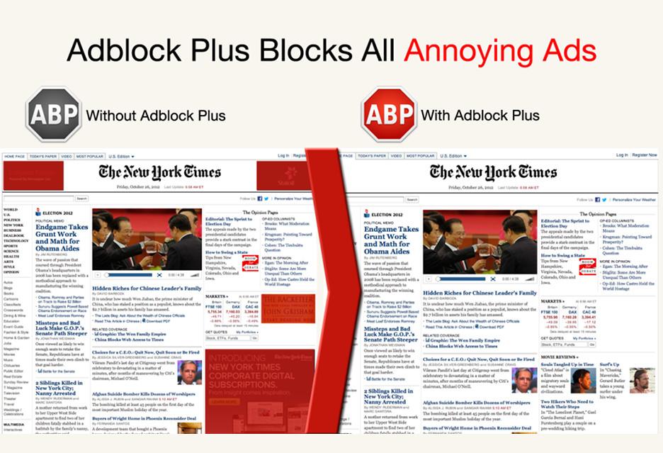Adblock Plus 3.5 z obietnicą 5 razy szybszego blokowania