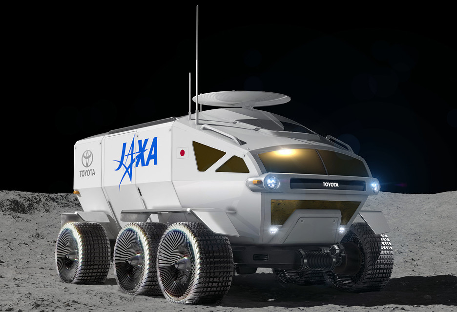 Oto księżycowy pojazd Toyoty