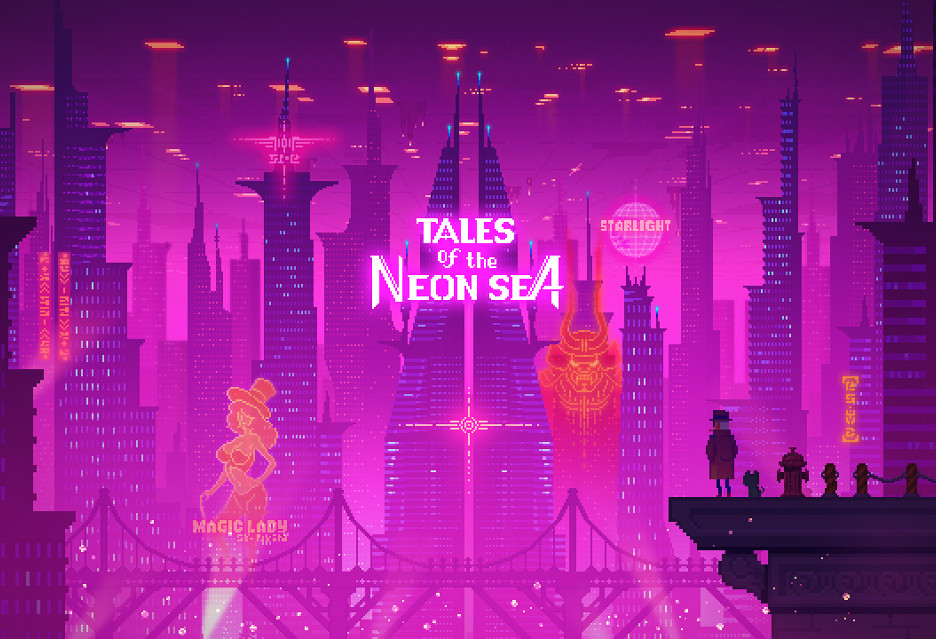 Tales of the Neon Sea na ostatniej prostej - intrygujący pixel artowy cyberpunk