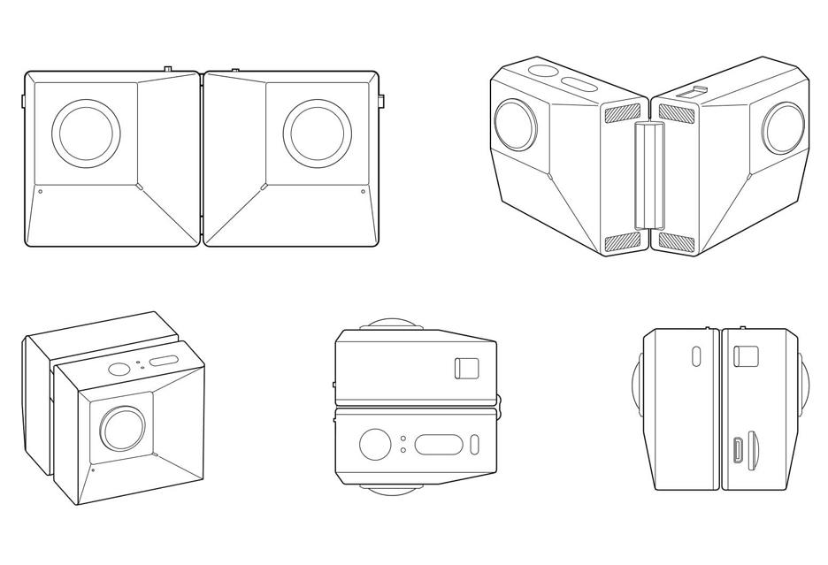 Insta360 EVO - są zginane smartfony, jest też taka kamera akcji