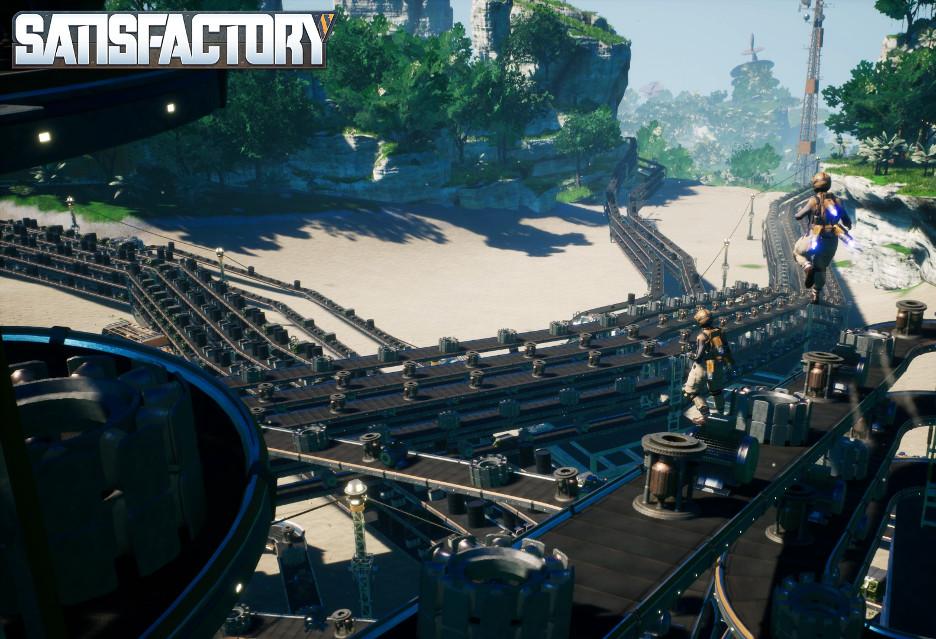 Premiera gry Satisfactory - inżynier-odkrywca wylądował na obcej planecie