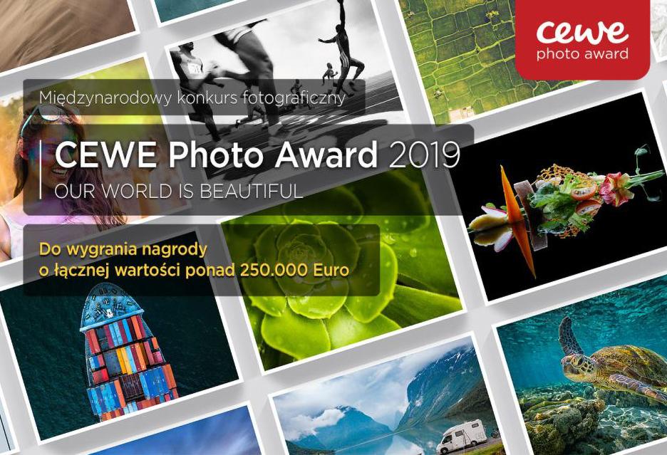 Konkurs foto CEWE Photo Award 2019 - duże nagrody, udział otwarty dla każdego