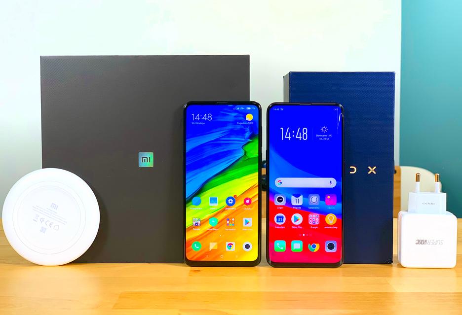 Xiaomi Mi Mix 3 vs Oppo Find X - który lepszy? | zdjęcie 1