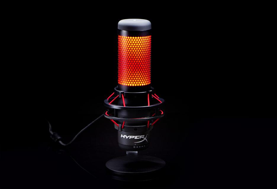 HyperX Quadcast - mikrofon dla streamera i podcastera   zdjęcie 1