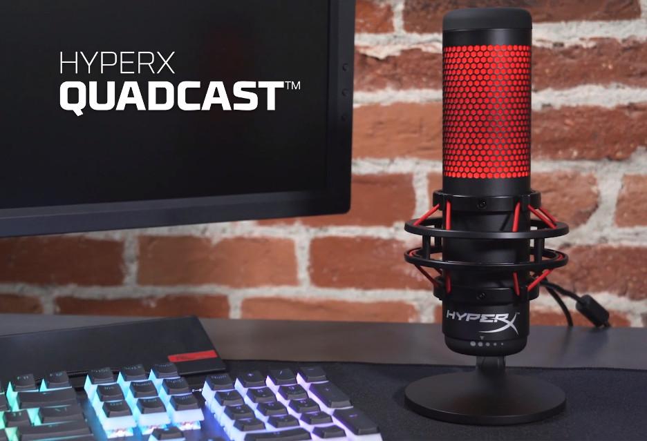 HyperX QuadCast to uniwersalny mikrofon dla streamera (i nie tylko)