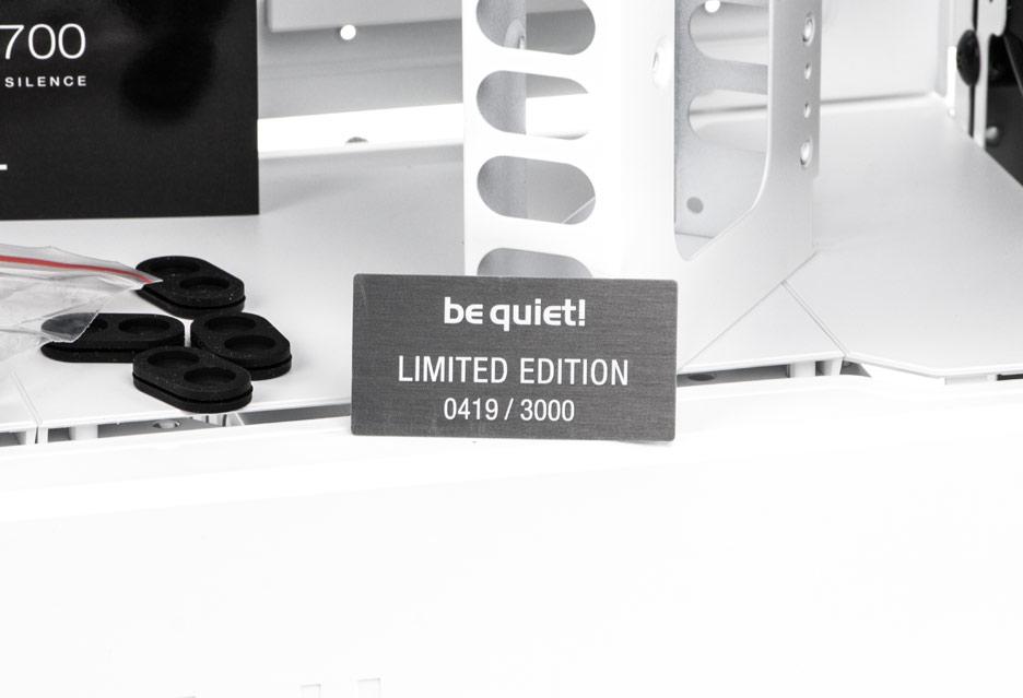be quiet! Dark Base 700 White Edition - rzut okiem na limitowaną edycję obudowy | zdjęcie 1