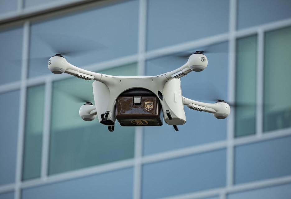 UPS i drony na pomoc pacjentom