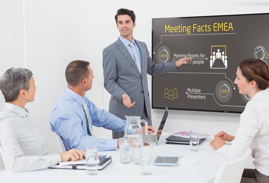 Monitory NEC MultiSync E - duże możliwości w Digital Signage za nieduże pieniądze