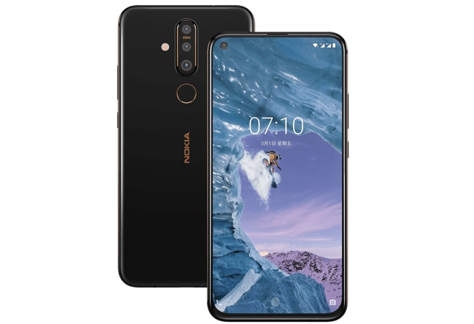 """Nokia X71 zaprezentowana - pierwsza Nokia z wyświetlaczem z """"dziurą"""""""