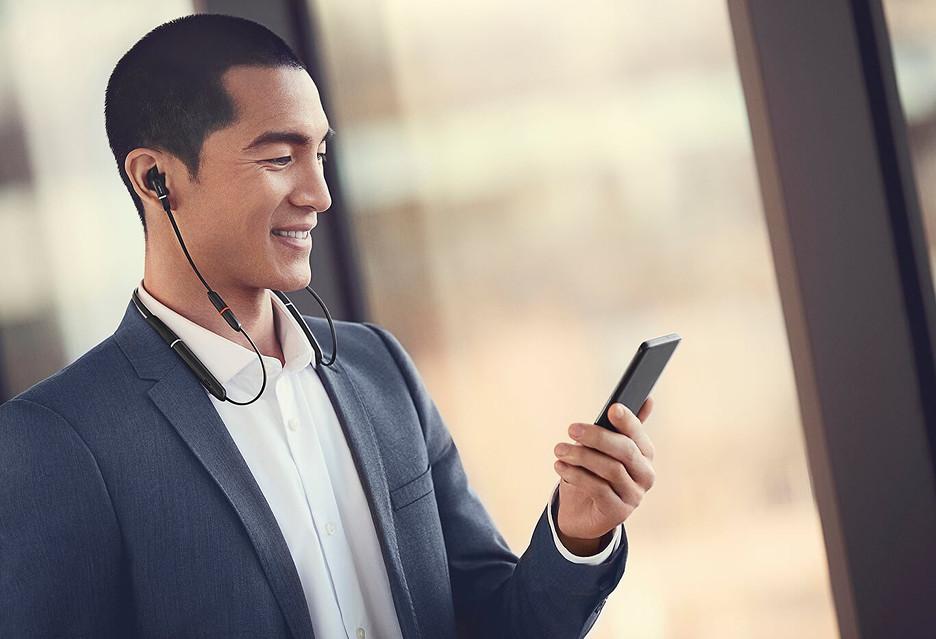 Jabra Evolve 65e to bezprzewodowe słuchawki dla mobilnych profesjonalistów