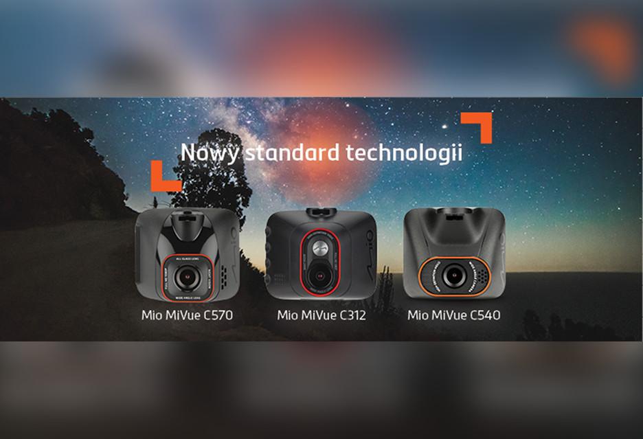 Nowe wideorejestratory Mio ze średniej półki