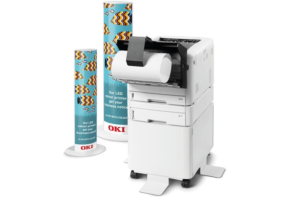 Najmniejsza kolorowa drukarka A3 od OKI