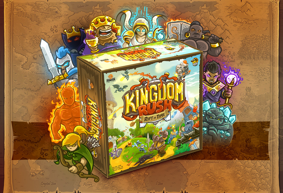 Polskie planszowe tower defense hitem na Kickstarterze - oto Kingdom Rush: Rift In Time