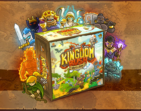 Polskie planszowe tower defense hitem na Kickstarterze - oto Kingdom Rush: Rift In Time