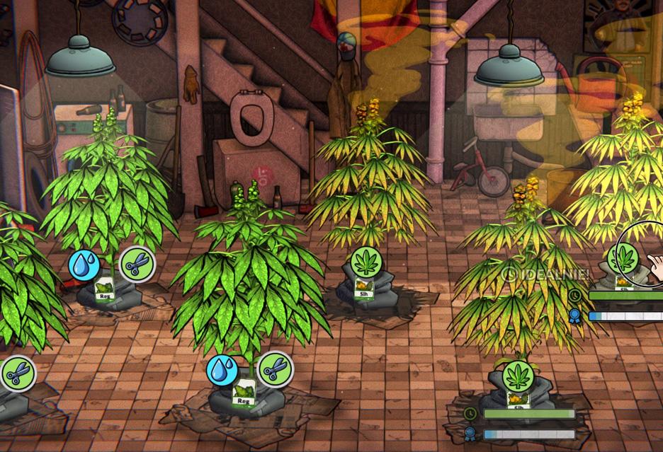 Gameplay z polskiej gry o uprawie marihuany - Weedcraft Inc