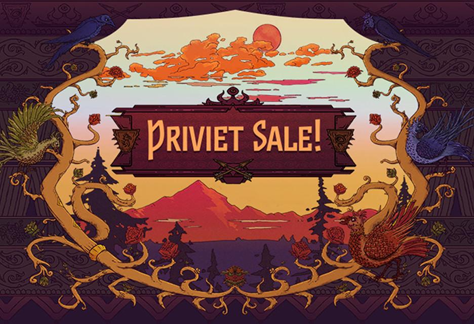 Nawet -90% na gry z Rosji, Ukrainy i Białorusi - Priviet Sale w sklepie GOG