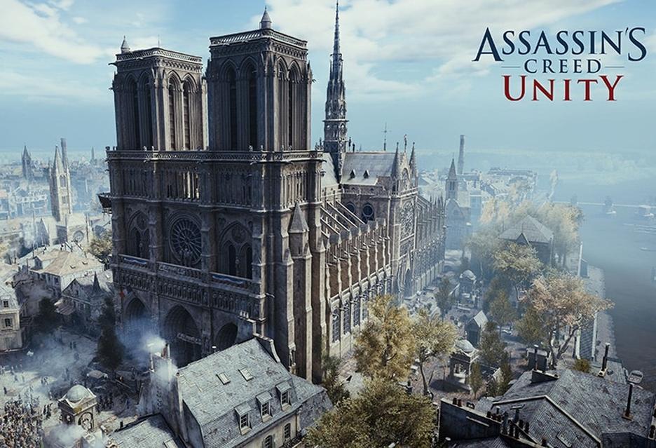 Assassin's Creed Unity za darmo - Ubisoft wspomoże odbudowę katedry Notre-Dame [AKT.]