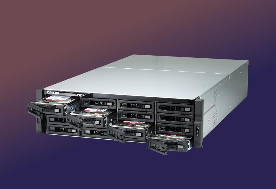 2 procesory i 2 systemy - QNAP NAS TDS-16489U R2