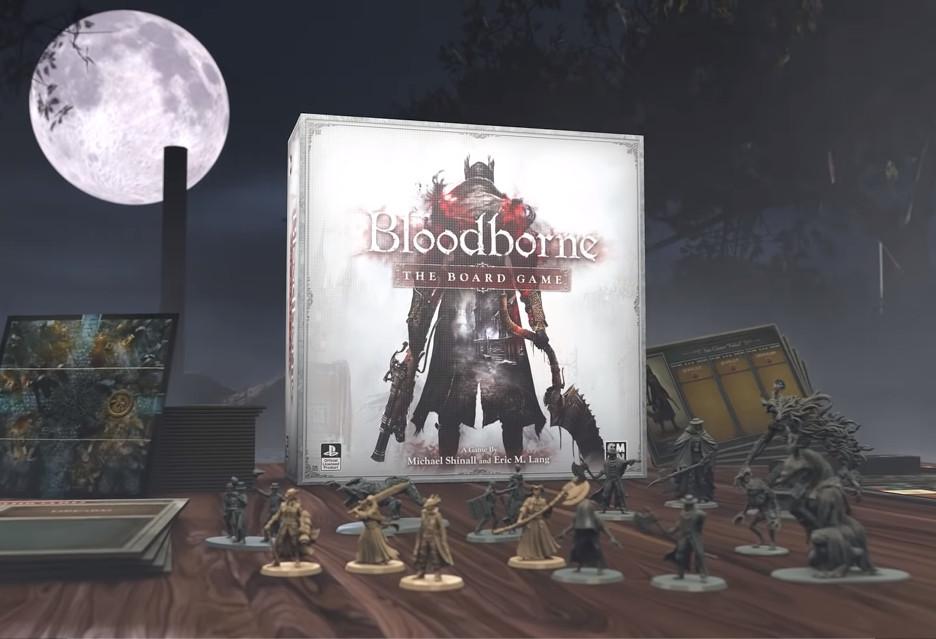Planszowe Bloodborne hitem na Kickstarterze